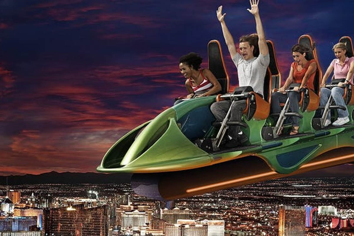Best Thrill Rides In Las Vegas