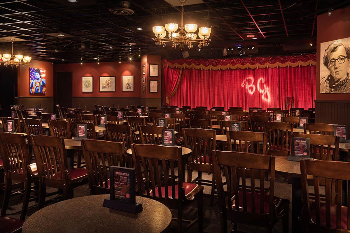 Brad Garretts Comedy Club Show Las Vegas
