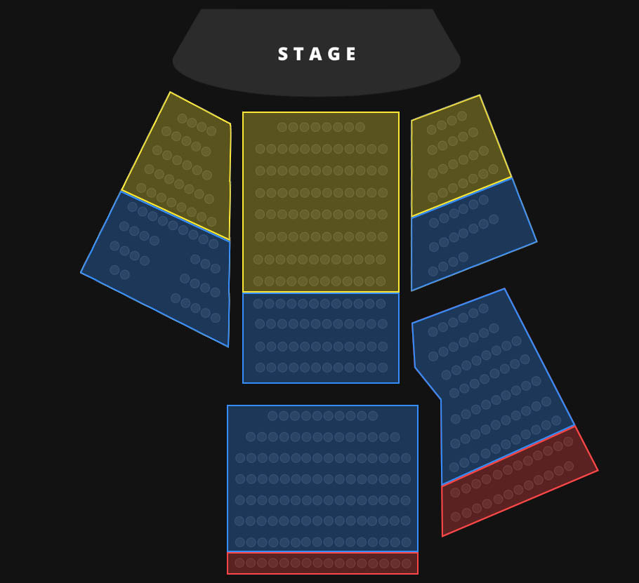 Terry Fator Seating Chart